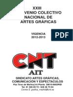 Convenio Graficas 2012 2013 Cnt