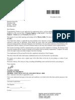 Namrata Infy Letter