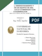 Monografia Fuerza Motriz Termica - Diseño de una central Termica