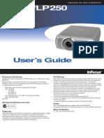 Infocus LP240 LP250 Reference Guide En