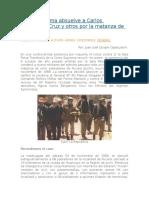 Corte Suprema Absuelve a Carlos Bergamino Cruz y Otros Por La Matanza de Pucará