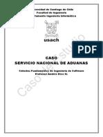 Caso de Estudio - Servicio Nacional de Aduanas