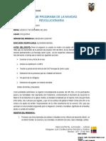 Informe Programa Navidad Revolucionaria