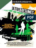 Look inside Alternative Resumes!