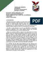 Análisis Del Caso de La Empres Delipan...