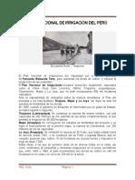 Plan Nacional de Irrigacion Del Peru Obandy Listo..