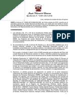 Resolución 305-2015-JNE Aprueba El Reglamento de Inscripción de Fórmula y Listas de Candidatos
