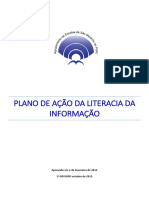 Plano de Ação da Literacia da Informação
