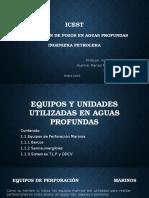 Equipos y Unidades Utilizadas en Aguas Profundas