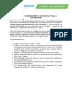 ALCALDES Y GOBERNADORES LE CANTARON LA TABLA A ELECTRICARIBE