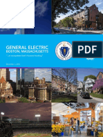 Boston's Proposal To GE On Relocating Headquarters