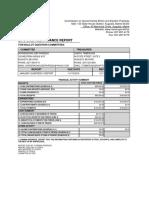 Quarterly Report For Horseracing Job Fairness Campaign