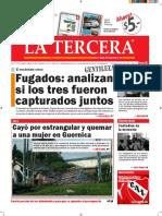 Diario La Tercera 15.01.2016