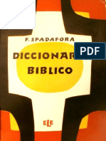 SPADAFORA - Diccionario Biblico
