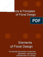 Principles and Elements of Floral Design (2)