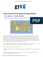 Safety in the Field and General Guidance for Geological Fieldwork _ Geology In