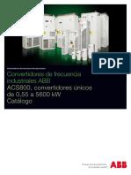 Datos Tecnicos ACS800-37
