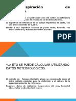 ET de Cultivo FAO.