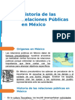 1.4. Historia de Las RRPPen México