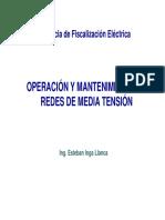Operación y Manteniemiento de Redes de Media Tensión-ESTEBAN INGA