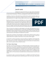 Markets With Search Costs- DMP Model