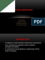 Task 1.3 - Individual Behaviour in Business