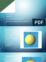 Paralelos, meridianos y Coordenadas (SIG)