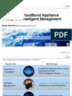 IBM WebSphere Cloudburst Appliance