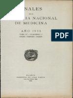 Anales de La Academia Nacional de Medicina-ideas e Ideales de La Medicina en Los Ultimos Cincuenta Años