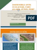 Turismo Sostenible Ante Retroceso Glaciar, Caso Huaytapallana