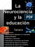 La Neurociencia y Educacin