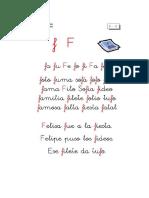 letra f 1º