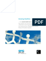 Collaborative Online Policies & Procedures Program & Blended E-Learning