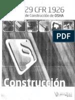 Xx OSHA 29 CFR 1926 Reglamento de Construcciòn de OSHA