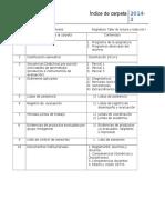Control Documentos Carpeta de Docente
