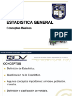 PRESENTACION 1 - ESTADISTICA GENERAL