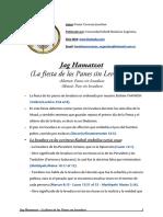 Jag Hamatzot - La Fiesta de Los Panes Sin Levadura