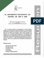 Dialnet-ElMovimientoEstudiantilEnEspana-170186