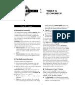 Guía de Estudio 1 - Qué es Economía