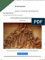 O Ritmo Dinâmico Entre Setênios e Nonênios (BVA)
