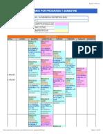 horarios USCO 2016