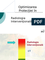 Optimizarea Protectiei in Radiologia Interventionala