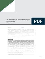 4. Las Diferencias Individuales y El Aprendizaje