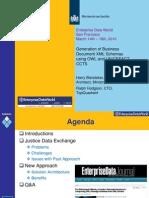 The Netherlands MoJ and TQ Presentation at EDW2010