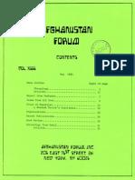 Afghanistan Forum