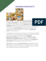 Personalizar El Aprendizaje a Través de Las TIC