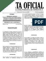 Éste es el decreto de Emergencia Económica publicado en Gaceta Oficial