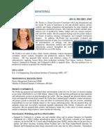 Pechet J Long Intl Detailed Resume