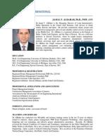AlBahar J Long Intl Detailed Resume