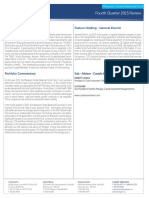 Marquest Global Balanced Fund - Quarterly Commentary (Q4 2015) - Cassels Invesment Counsel Inc